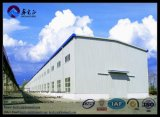 Дешево и Elegent полуфабрикат Steel Frame Warehouse (BYSS050502)
