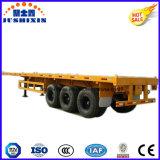 20FT 40FT 콘테이너 수송 평상형 트레일러 트럭 트레일러