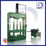 Plásticos Baler Ropa y Textiles hidráulico balas Máquina de la prensa