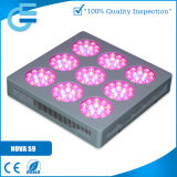 La luz del panel de la Nova T9 LED de Evergrow crece