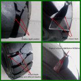 Pneumatico solido del carrello elevatore di alta qualità della Cina Shandong, gomma industriale