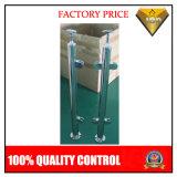 Barandilla de acero inoxidable Escalera Publicar abrazadera de cristal con una silla redonda (JBD-G9)