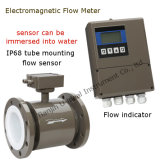 Alta precisão Split Remote, All-in-One Intelligent Electromagnetic Water Flow Meter