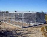Гальванизированная клетка собаки ячеистой сети Wleded заполненная напольная
