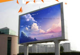 P8 Alta Tecnología al aire libre a todo color LED pantalla electrónica en fundición de aluminio Display