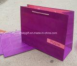 Bolsas de papel coloridas del regalo de la impresión barata al por mayor