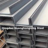 Q235, Q275, Q345, Ss400, laminé à chaud, faisceau de la poutre en double T /I dans le profil en acier