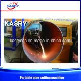 Draagbaar Rond CNC van de Pijp van de Buis Plasma/de Scherpe Machine van de Vlam