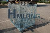 Industrielle galvanisierte Maschendraht-Behälter für Speicherung