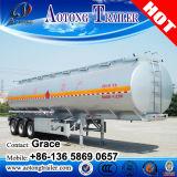 3 essieux 4 essieux 45000 litres de remorque de réservoir de carburant, 50000 litres d'essence de remorque de camion-citerne, de réservoir de carburant remorque semi