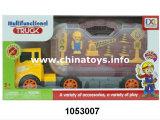 carro plástico da corrediça dos brinquedos do presente 2017promotion, caminhão da roda da sensação (1053007)