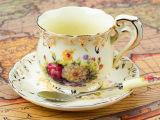 De elegante Kop van de Koffie van het Porselein van de Kop van de Koffie van het Ontwerp Ceramische
