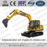Máquinas escavadoras Digger novas da esteira rolante da fonte da fábrica mini com o certificado ISO9001