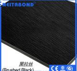 PVDF ignifugan el panel compuesto de aluminio usado en la lista de precios de la pared de Currtain