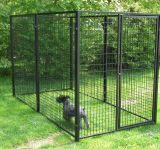 Grande cerca barata do canil do cão do metal, casa de cão do metal