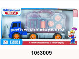2017promotion 선물 플라스틱 장난감 활주 차, 느낌 바퀴 트럭 (1053007)