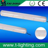 LEIDEN van het tri-Bewijs van de LEIDENE Inrichtingen van de Verlichting Licht, Lage Baai Lienar. PC +PC met IP65. Waterdichte ml-Tl3-Geleide Lat