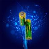 De Batterijen van aa voor de Draadloze Staaf van de Sensor Wii