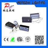 10 조각 LED 라이트 열쇠 고리 미니 라이트 박스