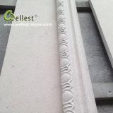 Exterior Wall Claddingのための自然なCream Beige Limestone