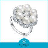 Commercio all'ingrosso dell'anello di cerimonia nuziale dell'argento sterlina a buon mercato 925 (SH-R0615)