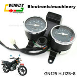 Indicateur de vitesse de pièce d'instrument de la moto Ww-7299 pour Gn125 Hj125