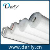 Altos cartuchos de filtro de membrana de la fibra de vidrio del flujo
