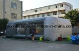 Cabina de aerosol inflable móvil del coche, cabina inflable de la pintura del coche