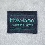 Etiqueta tecida do vestuário da etiqueta da tela pano feito sob encomenda