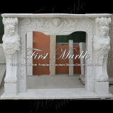 Camino bianco della scultura di Carrara per la decorazione Mfp-266