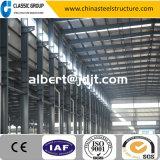 Alto magazzino facile/gruppo di lavoro/capannone della struttura d'acciaio di configurazione di Qualtity della grande gru