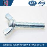 O aço DIN316 chapeado zinco parte o parafuso da porca dos parafusos de asa