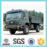 Sinotruk 20 toneladas del carro de ejército del carro del camión del carro del cargo del camino 4X4