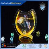 Tanque de peixes decorativo e desobstruído ou colorido do plexiglás com transparência elevada