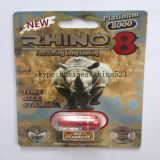 Neue Geschlechts-Ausdauer des Nashorn-8 des Platin-8000 für das schnelle Wirken langlebig