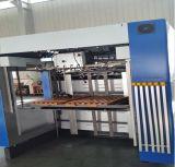 波形シートのボール紙のカートンに入れる機械