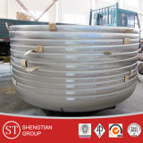 "316L Stainless Steel Seamless Cap (1/2 ""--72 "")"