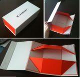 Zapatos plegables que empaquetan el rectángulo, caja de embalaje de vestir