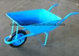 Wheelbarrow resistente do metal do jardim do carro da mão