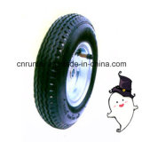 8 인치 공기 바퀴 압축 공기를 넣은 고무 바퀴