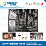 El CE aprobó la botella de cristal líquido de la vodka de la máquina de llenado