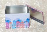 Runder leerer Metalltee können/Kaffee-Zinn-Kasten/Tee-Zinn