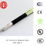 Esterno tutto il cavo ottico aumentato dielettrico Gyfy 16b1.3 della fibra