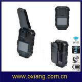Heißer Verkauf aufgebaut in getragener videopolizei-Kamera GPS-WiFi Bluetooth 120degree 3G 4G Karosserie