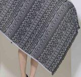 100%Polyester 털실 염료 스카프