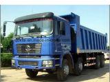 De Vrachtwagen van de Kipper van de Stortplaats van Shacman 8X4 voor 60ton