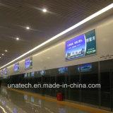 옥외 광고 매체 또는 실내 LED 코드 게시판 가벼운 상자
