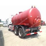 Absaugung des Sinotruk Vakuumabwasser-Absaugung-Tanker-10ton 10m3 - Tumbrel Tanker-LKW schreiben