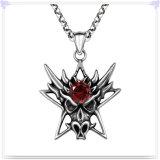 方法宝石類の水晶ネックレスのステンレス鋼のペンダント(NK1097)