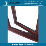 Marco de aluminio de cristal Windows del claro adaptable de la capa doble